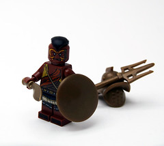 Gladiator! (JasBrick) Tags: lego minifig custom gladiator brickarms brickforge