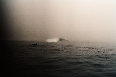 (Maddie Joyce) Tags: ocean sea mist water fog 35mm out surf trevor surfing gordon paddling