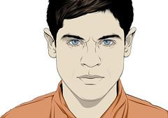 Simon (Misfits) (craniodsgn) Tags: portrait simon illustration vector misfits tvseries