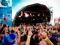 Snoop Dog Crowd @ Summadyze Perth 2012