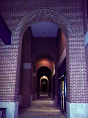 347/365:  Archways (MountainEagleCrafter) Tags: door ga georgia outside outdoor bricks arches 365 archways macon day347 project365 3661 camminante georgiasportshalloffame 347365 121311 365community multiplearches thethingswesee project36612011 project752 2011yip 3652011 365the2011edition 12132011 project365131211 project36513dec11