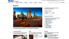 Explored Front Page 1.06.12 (© In 2 Making Images | °L.A.) Tags: california longexposure morning blue building love eos la us skies angeles first bank digitalphotography discover downtownlosangeles 110freeway morningrushhour i trafficlighttrails skrscrapers canonrebelt2i albertvalles