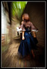 Alice Walking Away @ Kada / 加太 (Ilko Allexandroff / イルコ・光の魔術師) Tags: camera bridge portrait people black slr art abandoned girl photoshop canon river dark landscape asian photography dance raw place designer feminine tokina explore jeans portraiture ambient denim dslr kada softbox hdr 人 ポートレート 写真 ilko photomatix 50d キャノン strobist tomogashima shinpo canon50d 80x60 加太 allexandroff アレクサンダロフ 大阪、川、橋、osaka island友ヶ島和歌山 ロケーションイルコ
