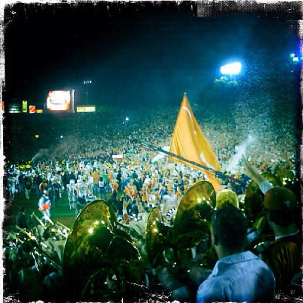 Two years ago on #sportsgeektrip lucky enough to attend the BCS CHAMPIONSHIP GAME with 90,000 friends