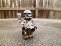 Scorch (Grant Me Your Bacon!) Tags: boss starwars lego sev custom clone commando scorch fixer deltasquad