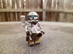 Scorch (Grant Me Your Bacon!) Tags: boss starwars lego sev custom clone commando scorch fixer deltasquad