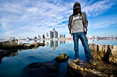 My City (D. Menace) Tags: selfportrait detroit windsor selfie madeindetroit ilovedetroit singlerawfile nothrd thedbaby