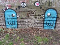 Loko Ais (cocabeenslinky) Tags: blue urban streetart london art canon graffiti canal artist grafitti power shot heart photos graf powershot east dollar graff regents hs ais 2012 eastend artiste loko sx220 cocabeenslinky cocabeenslinky