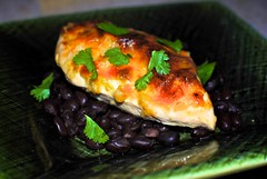 South of the Border Chicken (Follow on instagram @ _bmcollins_) Tags: food chicken cooking dinner mexicanfood blackbeans salsaverde