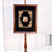 158. Antique Needlepoint Fire Screen