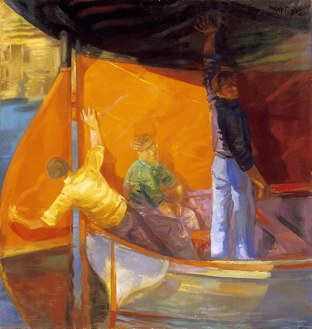 Duray, Tibor (1912-1988) - 1938 Ship Painters (Private Collection)