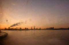 Industrial skyline of Amsterdam (rob.brink) Tags: haven west holland industry amsterdam ferry skyline sunrise boot flying industrial harbour nederland fast area connection fff westelijk noord ijmuiden velsen connexxion draagvleugel gebied