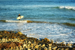 On A Clear Day (Aspenbreeze) Tags: california summer water coast waves surfer pacificocean coastline venturacalifornia aspenbreeze