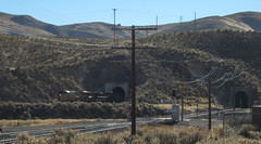 UP tunnels, Palisade NV (2081) (DB's travels) Tags: railroad up nevada unionpacific palisade blm bureauoflandmanagement winter12 tempcrr