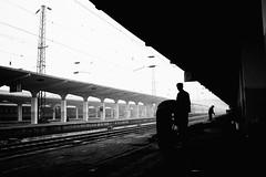T264 #6 (richardhwc) Tags: china blackandwhite film asahi pentax takumar kodak railwaystation xian m42 spotmatic tmax400 smc ei800 35mmf35 t264