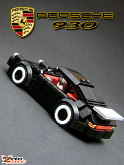 Porsche 930 (ZetoVince) Tags: car greek lego 911 vince turbo porsche vehicle minifig supercar 930 blackrims zeto zetovince dreamdealer