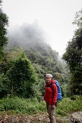 (Michał Olszewski) Tags: nepal mist clouds forest asia land himalayas acap tropicalforest gandaki kaski annapurnaconservationarea geographicalfeatures annapurnaconservationareaproject