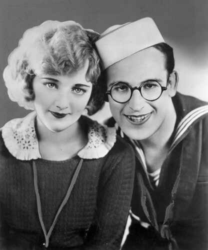 Harold Lloyd tortoiseshell spectacles with large, round lenses laser surgery at London Vision Clinic