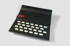 My Lego ZX81! (hairydalek) Tags: old computer model lego computers retro historical sinclair zx81