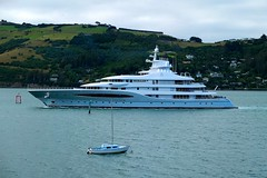 Super Yacht Mayan Queen (_setev) Tags: cruise newzealand port boat ship yacht craft super stephen queen mayan nz otago dunedin pleasure murphy downunderphotos stephenmurphy