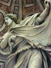 The Veronica by Francesco Mochi (1580-1654) (mharrsch) Tags: sculpture vatican stpeters church worship catholic cathedral basilica religion christian veronica mharrsch