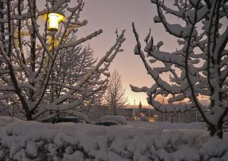 Snjór í Reykjavík/ Snow in Reykjavik