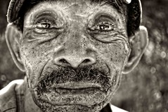 Desillusion (magneticart) Tags: portrait bw face closeup rural tired worker laborer questions retribution manpower magneticart magneticpiccom giovannisavino