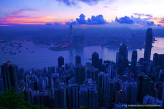 Sleepy HK (TIA International Photography) Tags: china city morning light shadow summer sky urban orange mountain building silhouette contrast skyscraper sunrise tia dark hongkong dawn asia cityscape pacific sleep slumber horizon hill peak august east sleepy highrise summit metropolis  hue tosinarasi tiascapes tiainternationalphotography
