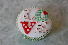 It's nearly time .... (abbietabbie) Tags: love floral cake heart letters explore spots cupcake button checks explre