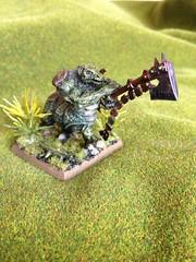 Zoat (Dezling) Tags: monster miniature 28mm warhammer zoat