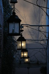 Twilights (bleudreams) Tags: lights twilight shadows darkness lamplights