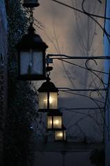 Twilights (bleudreams) Tags: lights twilight shadows darkness lamplights