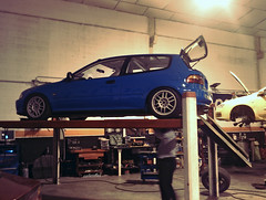 civic eg en el taller (revuX) Tags: oz f1 racing civic eg
