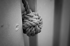 The Monkey Fist ([(D) ]) Tags: monkeyfist leitax nikond7000 leicasummicronr1250 maritimeknot