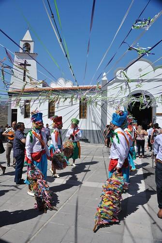 Danza de varas, Fiestas del Pilar, Chimiche 2011