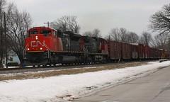 Crack It (Wide Cab) Tags: cn train freight canadiannational oshkoshwi a447 neenahsub