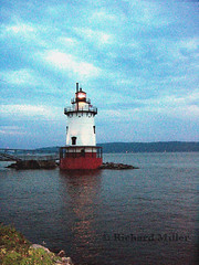 4-Painted Portrait (Blackarrow3) Tags: lighthouses hudsonriver sleepyhollowlighthouse tarrytownlighthouse newyorklighthouses hudsonriverlighthouses 1883lighthouse