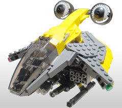 Hornet - Title1 (.Jake) Tags: yellow chopper lego space military helicopter vtol bley foitsop