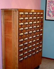 library card catalog (thebookishlife) Tags: library books card catalog bookish