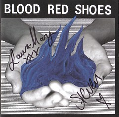BLOOD RED SHOES (Stars Are Underground) Tags: red blood shoes ddicace