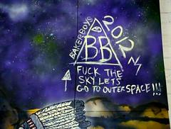 BakerBoys wall (BB BASTIDAS) Tags: art baker ns space ufo outer bb skateboards deathwish krue bastidas nskrue bakerboysdist