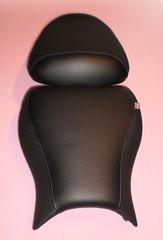 Asiento de moto tapizado carbono (Tapizados y gel para asientos de moto) Tags: moto asiento carbono tapizar antideslizante