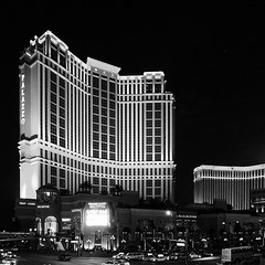 The Palazzo (avhell) Tags: vegas bw gimp 12mm tmax400 hugin gmic olympusomdem5