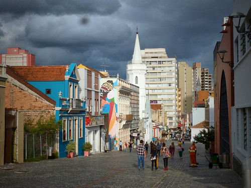 Vieille ville, Curitiba, Brésil