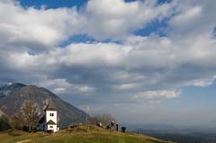 St. Peter (renatosuler) Tags: sky sun church beautiful clouds nikon sunny slovenia stpeter 18105mm d7000