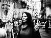 madonnas (michele liberti) Tags: blackandwhite italy white black women grain streetphotography streetscene napoli naples monocrome madonne sacredandprofane sacroeprofano streetbw
