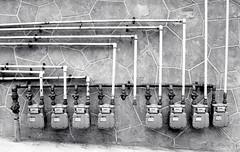Gas Lines (Bill Smith1) Tags: hc110b olympusom4 hamiltonon berggerbrf400 zuiko50f14lens filmshooterscollective spring2016 billsmithsphotography