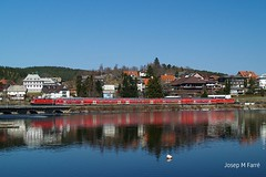 143 Schluchsee 04-09 (Josep M Farr) Tags: db regional schluchsee 143 titisee seebrugg dosto