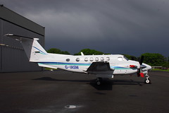 G-IASM Beech 200 King Air (eigjb) Tags: ireland dublin plane airplane airport king general aircraft aviation air may 200 beechcraft beech spotting weston turboprop 2016 be20 2excel beech200 eiwt giasm