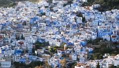 Chefchaouen, Morocco (Michael Layefsky) Tags: blue morocco medina chefchaouen